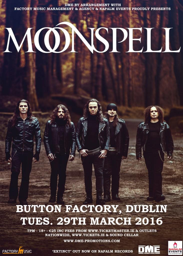 Moonspell Tour Manchester